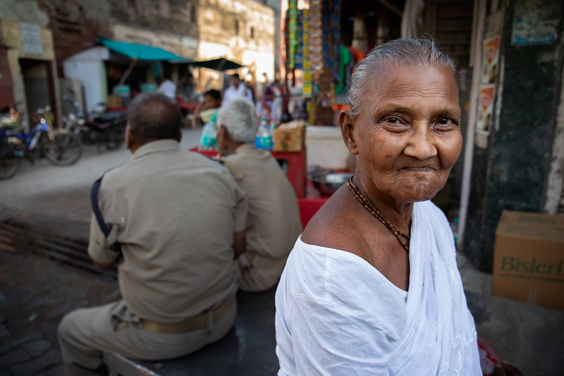 Deepa from Kolkata is one of the many widows that has chosen to live on the steets and not in one of the ashrams.