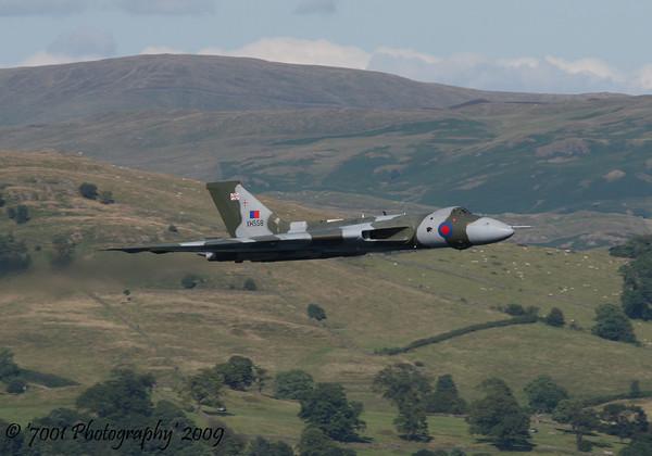 XH558 Vulcan B.2 - 25th July 2009.