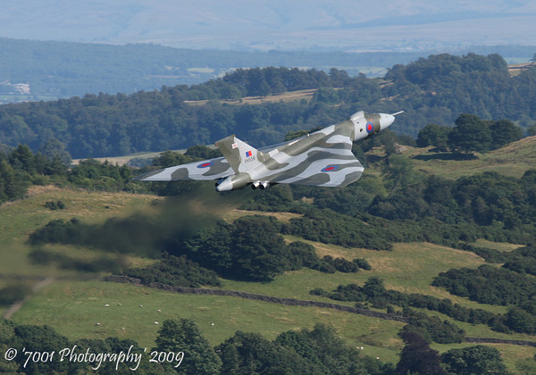 XH558 Vulcan B.2 - 25th July 2009.
