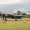 Touchdown XH558 landing at Farnborough Airshow