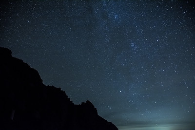 Nightsky at Stromboli