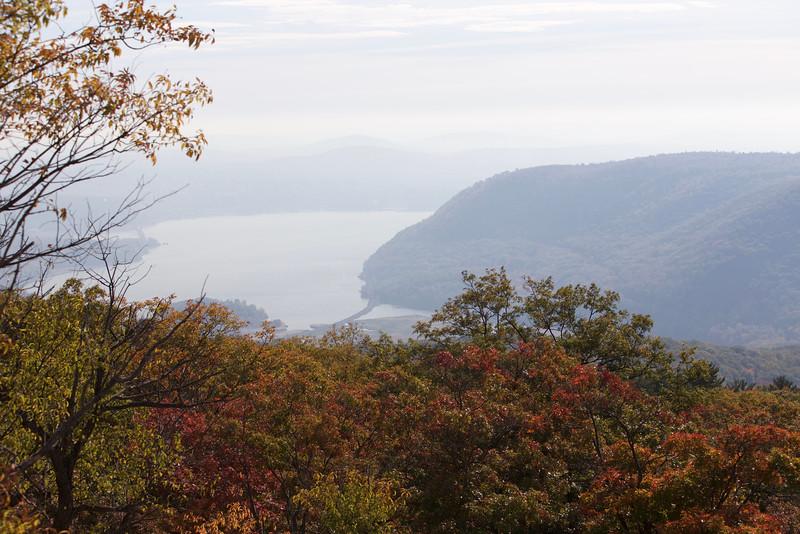 Hudson River from Bear Mt.