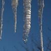 icicles from the roof, Hamden, CT