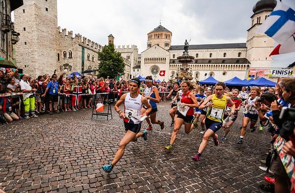 WOC 2014 sprint relay