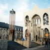 Liege, náměstí Saint Lambert, v době, kdy se tam ještě nevraždilo jak na běžícím pásu
