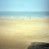Oostende, lidové výtvory v písku na pláži