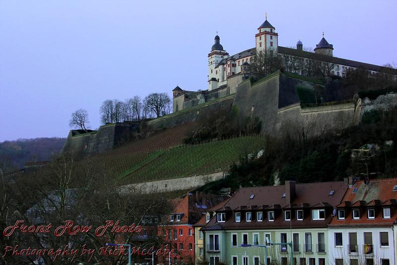 Fortress Marienberg overlooking Wurzburg.