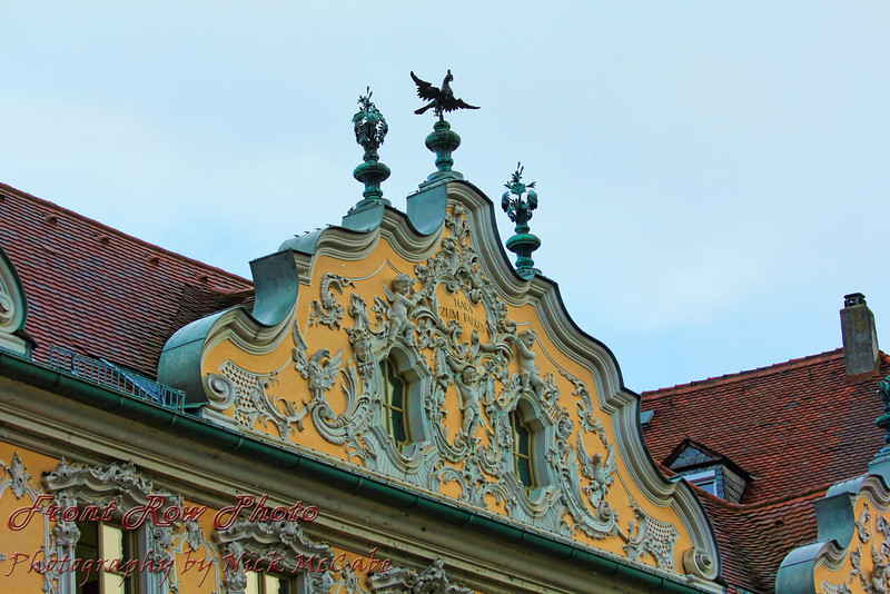 Detail of Falkenhaus