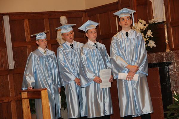 Graduacje w kosciele Sw Daniela 2014