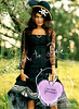 VERA WANG Princess 2006 UK (handbag size format) 'Born to rule - A new spirit in fragrance'<br /> MODEL: Camilla Belle, PHOTO: Bruce Weber, LOCATION: Miami