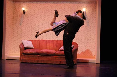 """Delia MacDougall and Soren Oliver in """"Enough"""" by Alice McDemrott"""