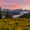 Autumn Sunset Over Tatoosh Range