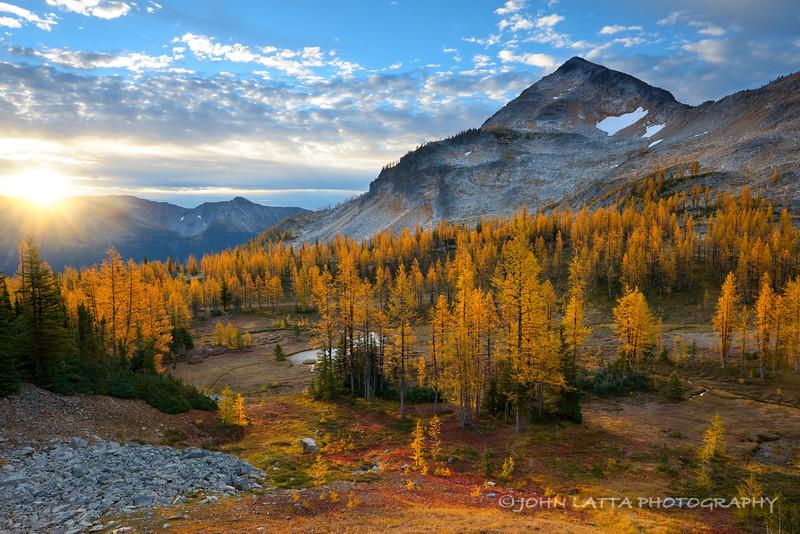 Pasayten Peak Sunrise