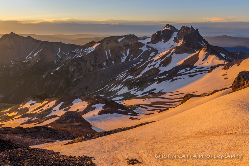 Sunrise On Curtis Gilbert Peak