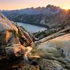 Sunset and Spade Lake