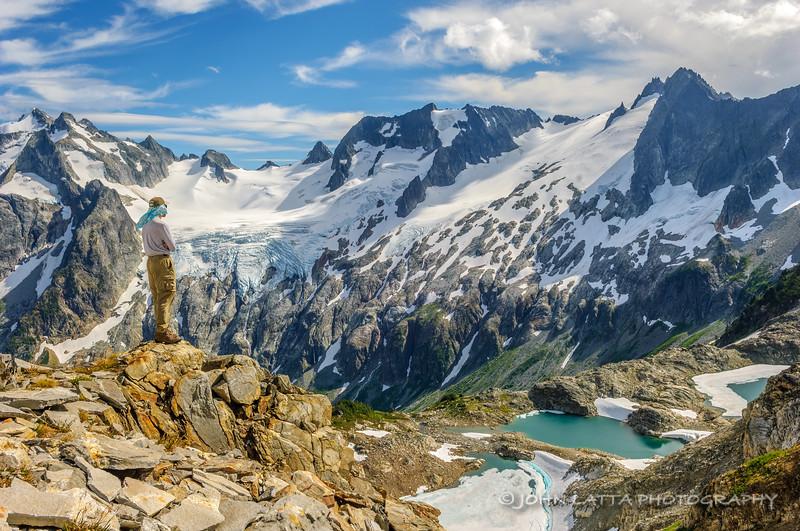 Steve Nelson Above White Rock Lakes