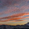 Sunset Over Clark Mountain