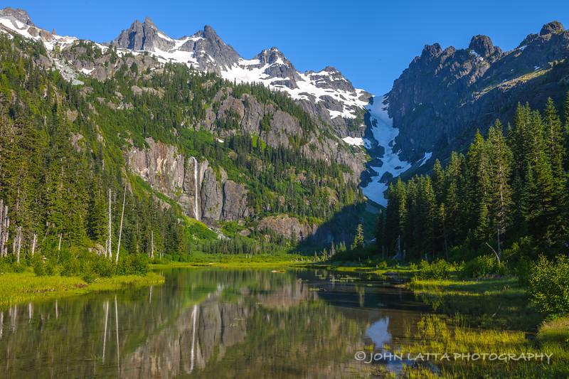 Lemah Creek Meadows and Lemah Mountain