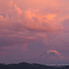 Cumulonimbus Building Over Mount Adams