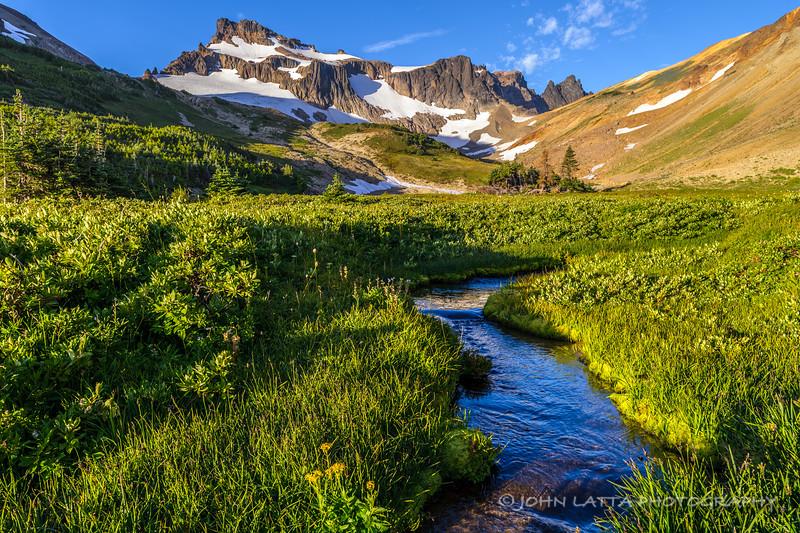 Curtis Gilbert Peak and Meadow