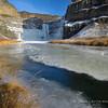 Icy Palouse Falls