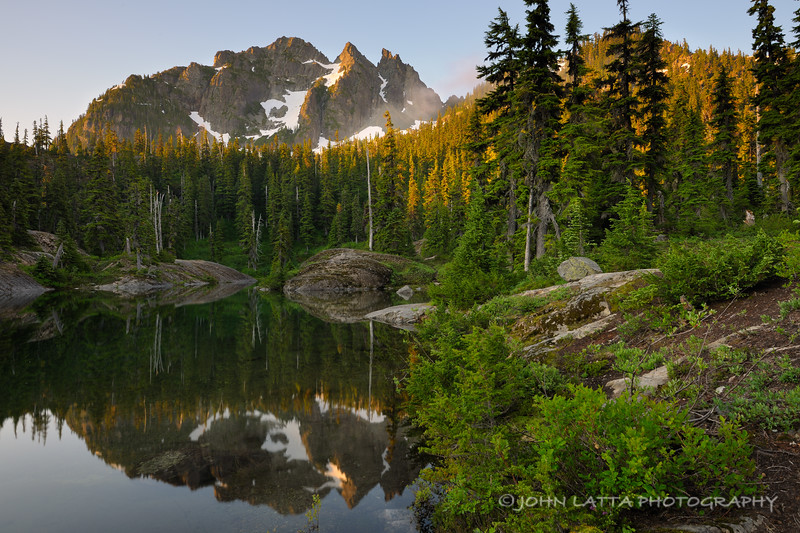 Three Queens from Spectacle Lake