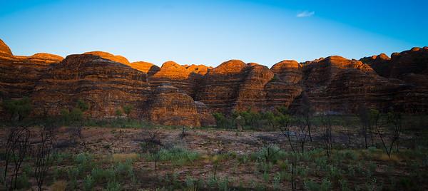Sunrise on the Beehives - Bungle Bungles, Kimberley, Western Australia