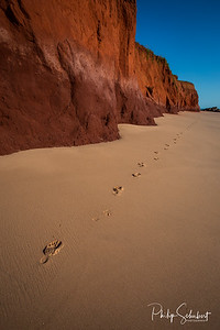 Footprints in the Sand - James Price Point