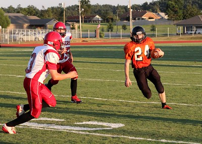 Waldron Junior Bulldogs vs Mansfield Jr Tigers 9-4-14