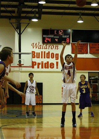 Jr High vs Lavaca 11-5-12