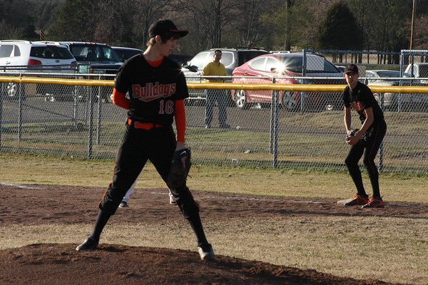 HS Baseball vs Booneville 3-6-12