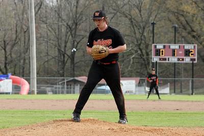 HS Baseball vs Mena 3-15-12