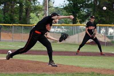 HS Baseball vs Mena 4-3-12