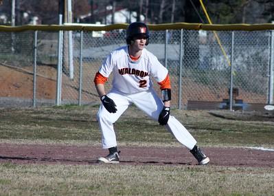 Baseball vs Booneville 3-7-13