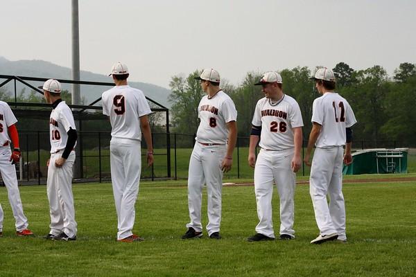 Baseball vs Mena 4-16-13