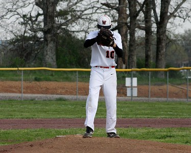 Baseball vs Subiaco 4-9-13