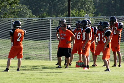 Football Practice 8-6-12