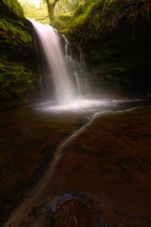 Cascade Brecon Beacons Waterfall country  039102017