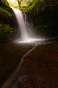 Cascade Brecon Beacons Waterfall country  039102017