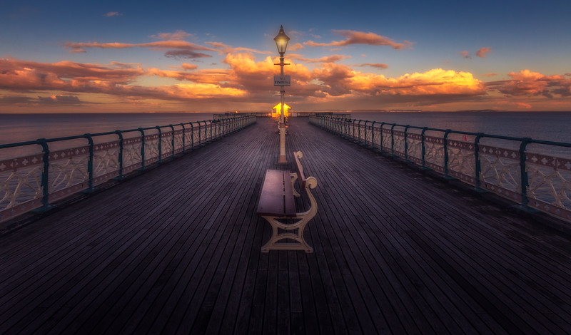 PENARTH PIER BY JASON MORDECAI