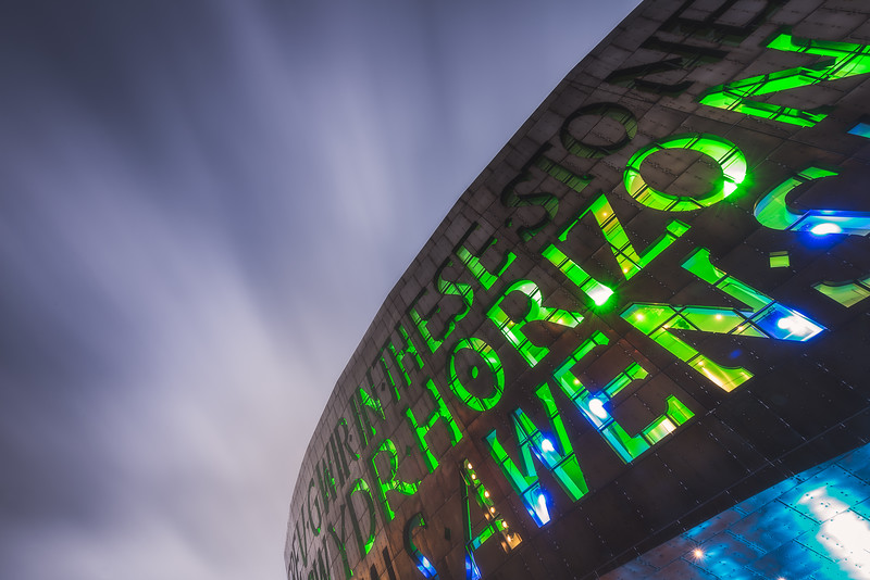 Cardiff Millennium Centre, Cardiff - By Xavier Martyn