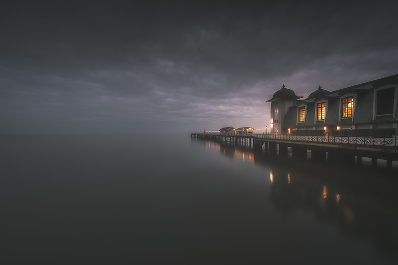 PENARTH PIER IN SOUTH WALES BY MARTYN XAVIER
