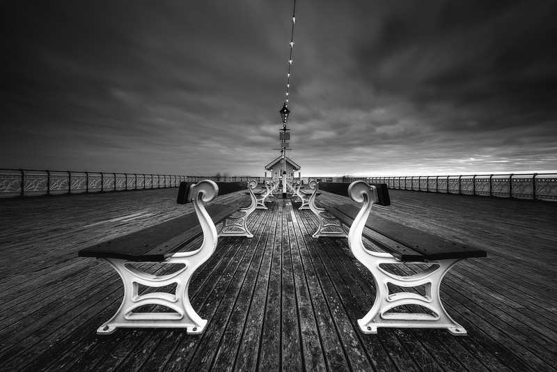 Penarth Pier - by Xavier Martyn