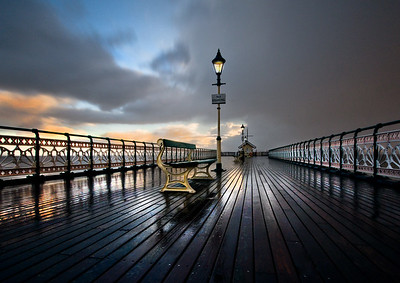 PENARTH PIER BY ADE WARD