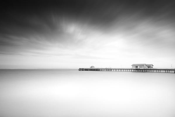 Penarth Pier - Super High Tide
