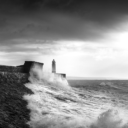 PORTHCAWL LIGHTHOUSE, WALES