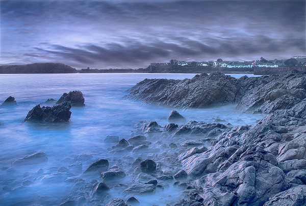 BARRY OLD HARBOUR_WATCHTOWER BAY_LANDSCAPE_DUSK_SCOTT WARNE_001102017