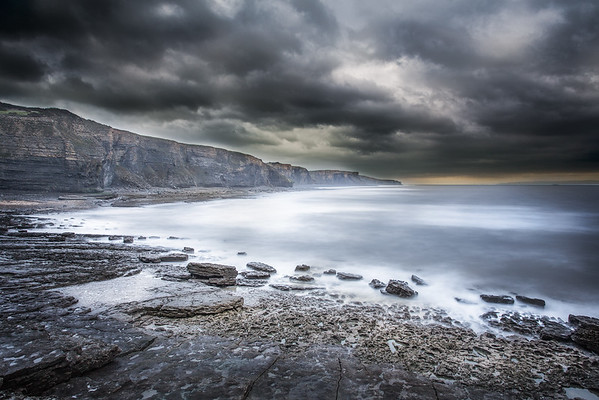 SOUTHERNDOWN CLIFFS, SOUTH WALES. BY SCOTT WARNE