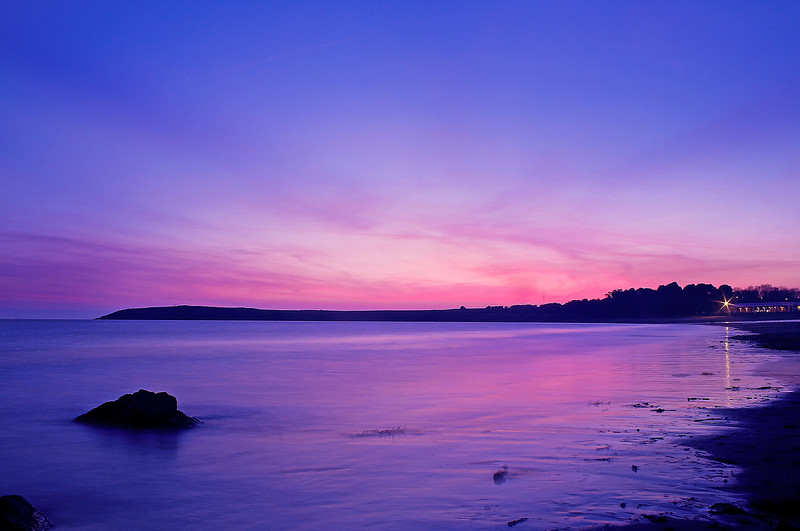 Barry Island At Dusk, South Wales - By Scott Warne
