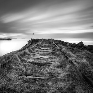 JACKSONS BAY LIGHTHOUSE_BLACK AND WHITE_BARRY_LANDSCAPE_SCOTT WARNE_001102017